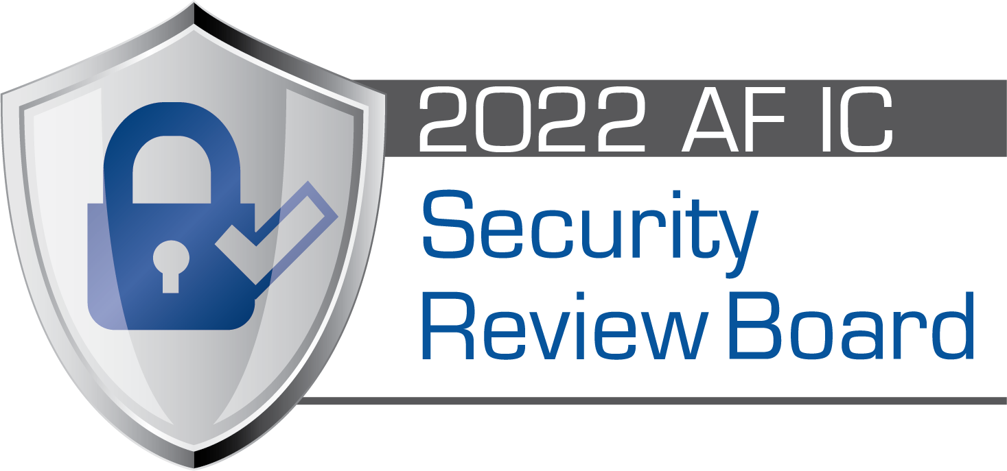 2020 Air Force Intelligence Community Security Review Board
