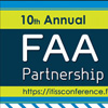10th Annual FAA IT/ISS Partnership and Training Conference Postcard